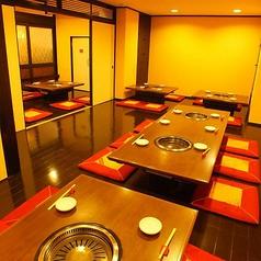 神戸元町の焼肉なら味道園 店内写真2